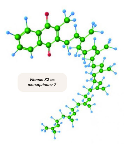 Vitamin K2 as menaquinone-7