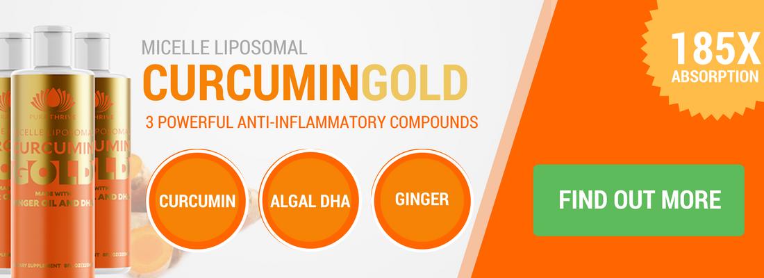 curcumin gold banner