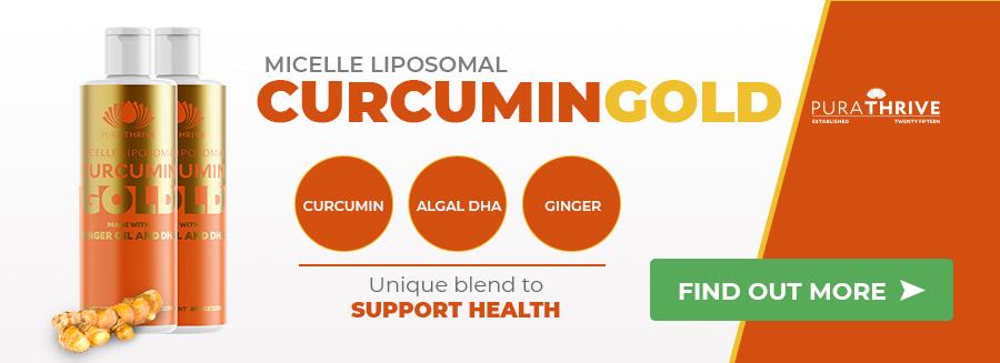 PuraTHRIVE Micelle Liposomal Curcumin Gold turmeric medicine