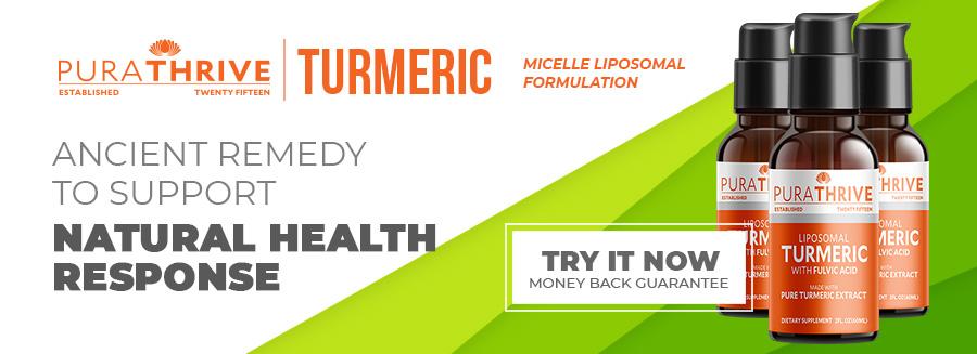 PuraTHRIVE Micelle Liposomal Turmeric medicine